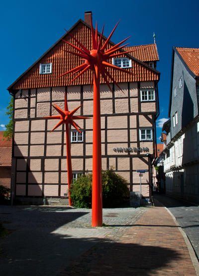 Bild vergrößern: House of timber and plaster construction in Celle, Lower Saxony, Germany