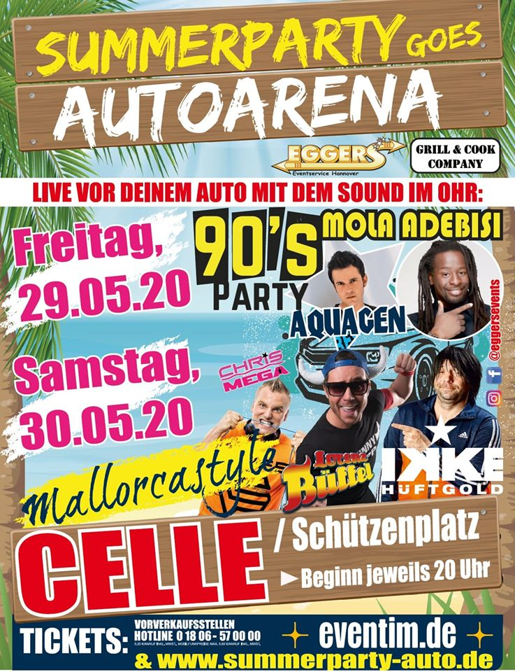 Summerparty goes Autoarena