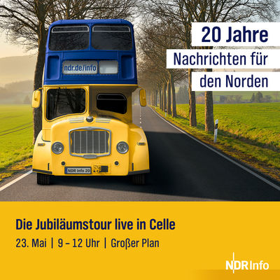 20 Jahre NDR Info | Live in Celle