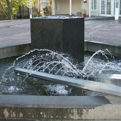 Interner Link: Brunnen vor der Congress Union